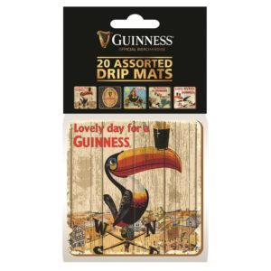BUY GUINNESS ASSORTED BEER MATS IN WHOLESALE ONLINE