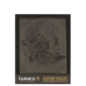 BUY GUINNESS WINGS COLLECTION GREY LEATHER WALLET IN WHOLESALE ONLINE