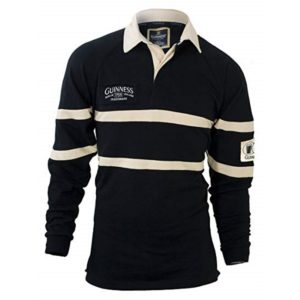 BUY GUINNESS BLACK CREAM TRADITIONAL RUGBY SHIRT IN WHOLESALE ONLINE