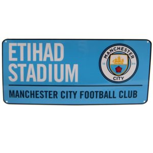 BUY MANCHESTER CITY BLUE STREET SIGN IN WHOLESALE ONLINE