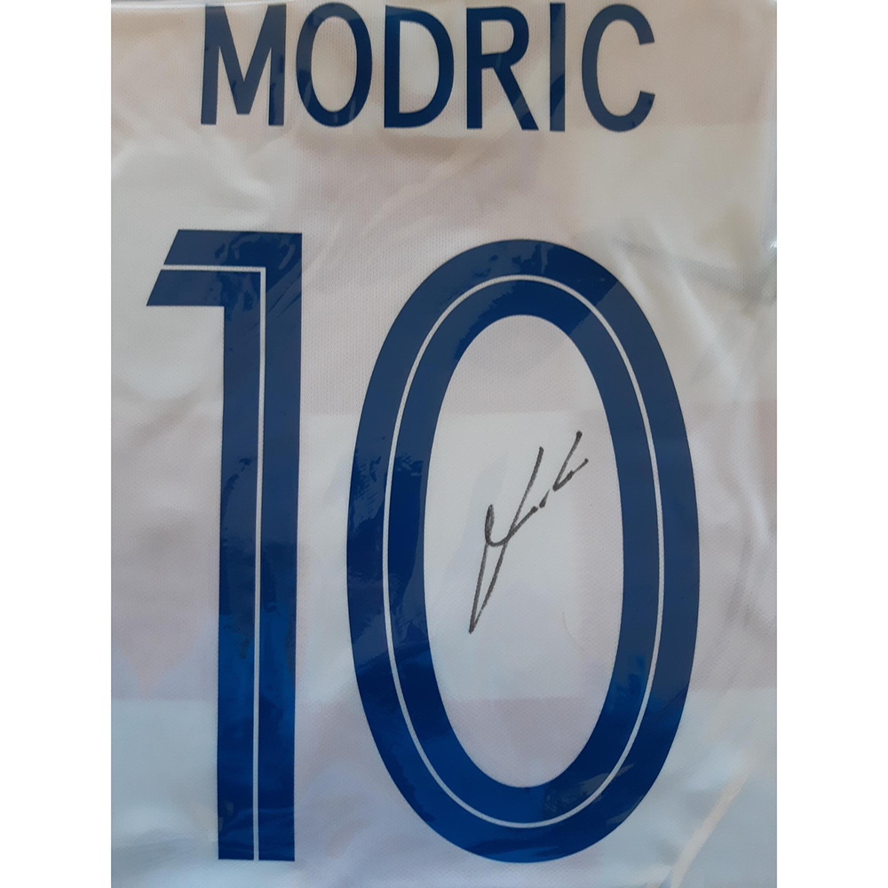 5a94946ed1c BUY AUTHENTIC SIGNED LUKA MODRIC 2017-18 CROATIA JERSEY IN WHOLESALE ONLINE