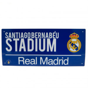 BUY REAL MADRID COLOUR STREET SIGN IN WHOLESALE ONLINE