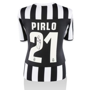 BUY AUTHENTIC SIGNED ANDREA PIRLO 2013-14 JUVENTUS JERSEY IN WHOLESALE ONLINE