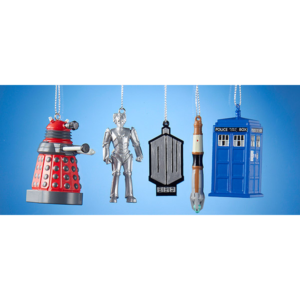 BUY DOCTOR WHO 2D GIFT SET ORNAMENTS IN WHOLESALE ONLINE