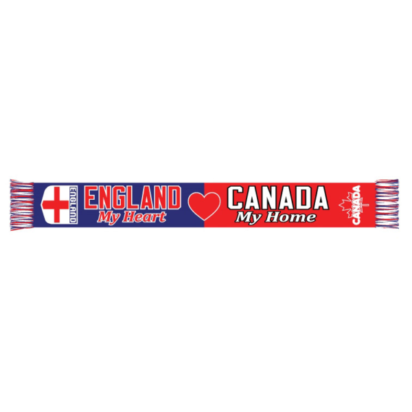 BUY ENGLAND MY HEART CANADA MY HOME SCARF IN WHOLESALE ONLINE