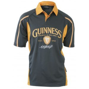 BUY GUINNESS GREY MUSTARD 1759 RUGBY SHIRT IN WHOLESALE ONLINE