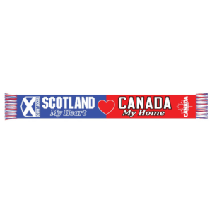 BUY SCOTLAND MY HEART CANADA MY HOME SCARF IN WHOLESALE ONLINE