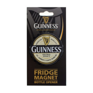 BUY GUINNESS SCREW CAP LABEL BOTTLE OPENER MAGNET IN WHOLESALE ONLINE