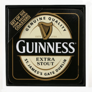BUY GUINNESS CORK-BACKED COASTERS IN WHOLESALE ONLINE