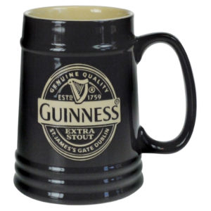BUY GUINNESS BLACK CERAMIC TANKARD IN WHOLESALE ONLINE