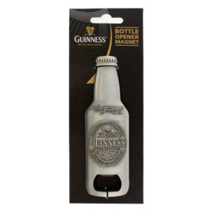 BUY GUINNESS 3D METAL BOTTLE OPENER MAGNET IN WHOLESALE ONLINE