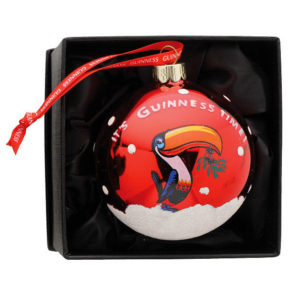 BUY GUINNESS TOUCAN CHRISTMAS BAUBLE IN WHOLESALE ONLINE