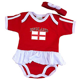 BUY ENGLAND BABY RUFFLE ONESIE IN WHOLESALE ONLINE