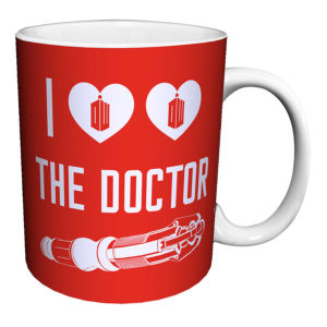 BUY DOCTOR WHO I HEART THE DOCTOR MUG IN WHOLESALE ONLINE