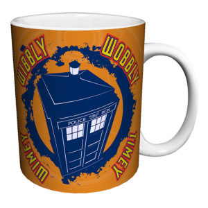 BUY DOCTOR WHO TARDIS WIBBLY WOBBLY TIMEY WIMEY MUG IN WHOLESALE ONLINE