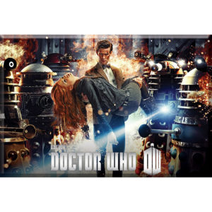 BUY DOCTOR WHO FLAMES MAGNET IN WHOLESALE ONLINE
