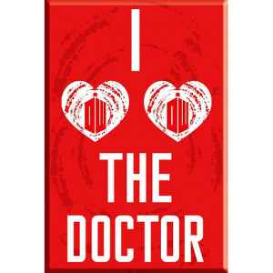 BUY DOCTOR WHO HEART DOCTOR MAGNET IN WHOLESALE ONLINE