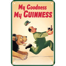 BUY GUINNESS LION MY GOODNESS MY GUINESS METAL SIGN IN WHOLESALE ONLINE