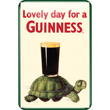 BUY GUINNESS TORTOISE LOVELY DAY FOR A GUINNESS METAL SIGN IN WHOLESALE ONLINE
