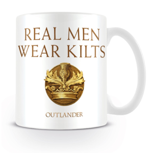 BUY OUTLANDER REAL MEN WEAR KILTS MUG IN WHOLESALE ONLINE