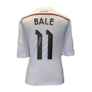 BUY AUTHENTIC SIGNED GARETH BALE 2014-15 REAL MADRID JERSEY IN WHOLESALE ONLINE