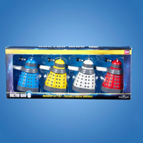 BUY DOCTOR WHO DALEK GIFT SET ORNAMENTS IN WHOLESALE ONLINE