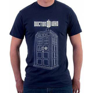 BUY DOCTOR WHO TARDIS T-SHIRT IN WHOLESALE ONLINE
