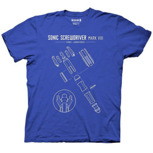 BUY DOCTOR WHO SONIC SCREWDRIVER T-SHIRT IN WHOLESALE ONLINE