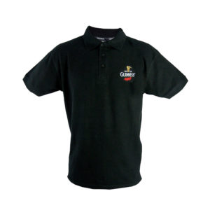 BUY GUINNESS BLACK SIGNATURE EMBLEM POLO SHIRT IN WHOLESALE ONLINE