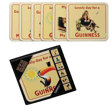 BUY GUINNESS HERITAGE TOUCAN COASTERS IN WHOLESALE ONLINE