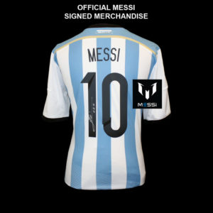BUY AUTHENTIC SIGNED LIONEL MESSI ARGENTINA JERSEY IN WHOLESALE ONLINE