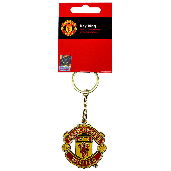 Buy Manchester United Crest Keychain In Wholesale Online Mimi Imports