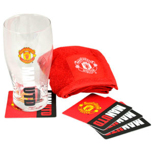 BUY MANCHESTER UNITED MINI BAR SET IN WHOLESALE ONLINE