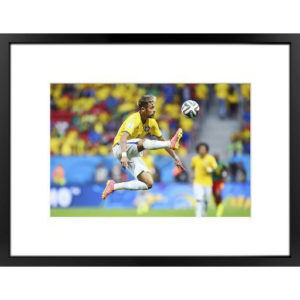 BUY NEYMAR WORLD CUP 2014 PREMIUM FRAMED PHOTO IN WHOLESALE ONLINE