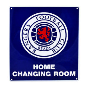 BUY RANGERS HOME CHANGING ROOM SIGN IN WHOLESALE ONLINE