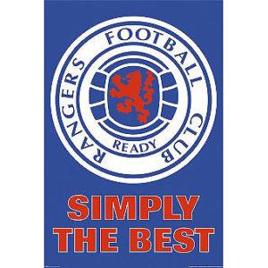 BUY RANGERS CREST POSTER IN WHOLESALE ONLINE