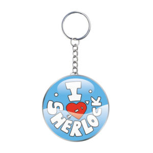 BUY SHERLOCK I HEART SHERLOCK KEYCHAIN IN WHOLESALE ONLINE
