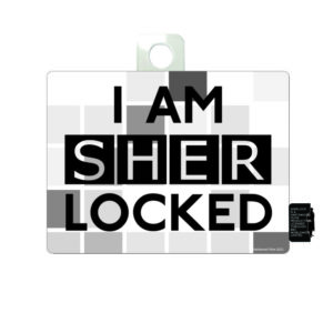 BUY SHERLOCK I AM SHER LOCKED STICKER IN WHOLESALE ONLINE