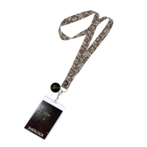 BUY SHERLOCK 221B LANYARD IN WHOLESALE ONLINE