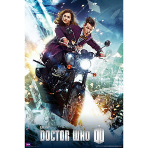 BUY DOCTOR WHO 11TH DOCTOR BIKE POSTER IN WHOLESALE ONLINE
