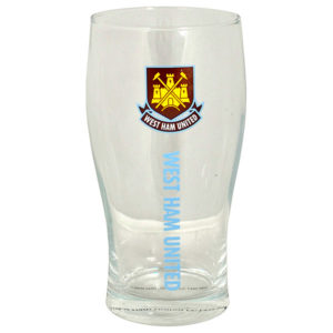 BUY WEST HAM PINT GLASS IN WHOLESALE ONLINE