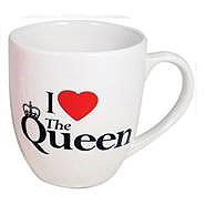 BUY UNITED KINGDOM I LOVE THE QUEEN MUG IN WHOLESALE ONLINE