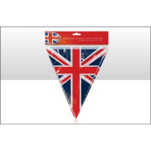 BUY UNITED KINGDOM UNION JACK TRIANGULAR BUNTING IN WHOLESALE ONLINE
