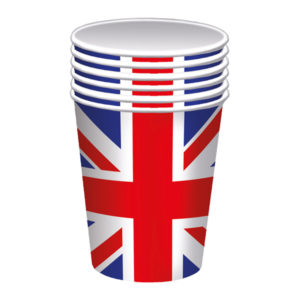 BUY UNION JACK PAPER CUPS IN WHOLESALE ONLINE