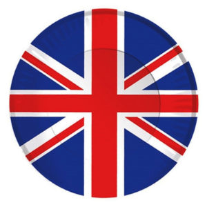 BUY UNION JACK PAPER PLATES IN WHOLESALE ONLINE