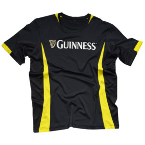 BUY GUINNESS BLACK YELLOW PERFORMANCE RUGBY T-SHIRT IN WHOLESALE ONLINE