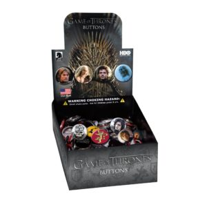 BUY GAME OF THRONES BUTTON COUNTER DISPLAY IN WHOLESALE ONLINE