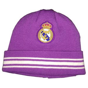 BUY REAL MADRID PURPLE BEANIE IN WHOLESALE ONLINE