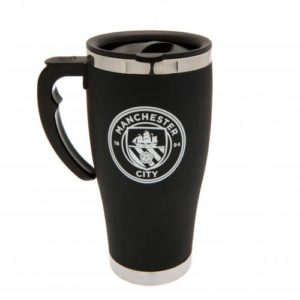 BUY MANCHESTER CITY HANDLE EXECUTIVE TRAVEL MUG IN WHOLESALE ONLINE
