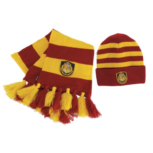 BUY HARRY POTTER HOGWARTS KNIT HAT AND SCARF SET IN WHOLESALE ONLINE